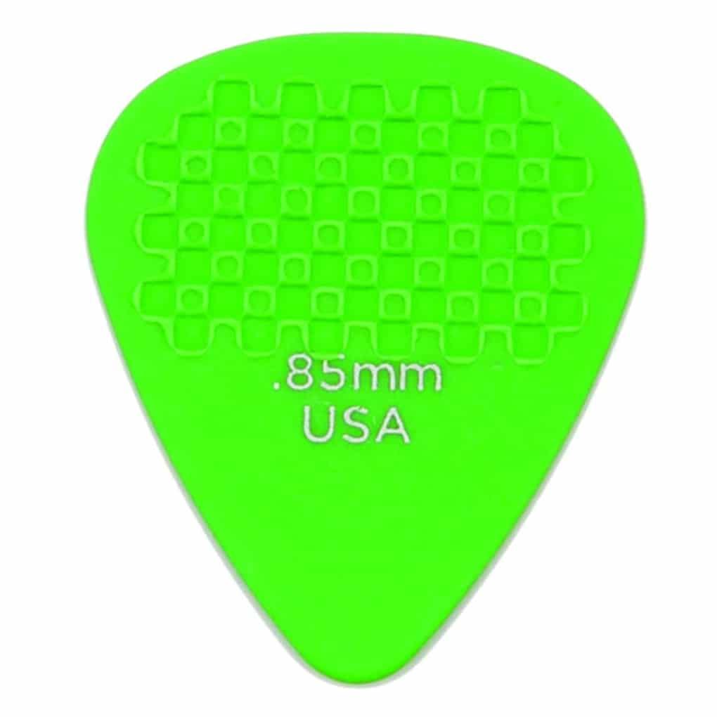D/'Addario Checkered Celluloid Light//Medium//Heavy Gauge Guitar Picks 10 Pack