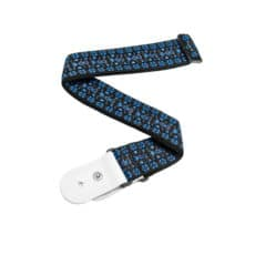 D'Addario – Planet Waves – Woven Guitar Strap – Hootenanny – Blue/Black – 50G05