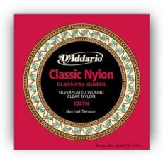 D'Addario EJ27N Student Nylon Classical Guitar Strings – Normal Tension