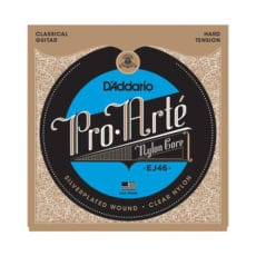 D'Addario EJ46 Pro-Arte Nylon Classical Guitar Strings – Hard Tension