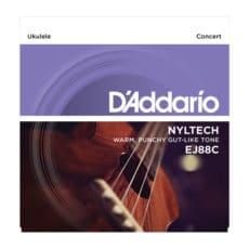 D'Addario EJ88C Concert Nyltech Ukulele Strings