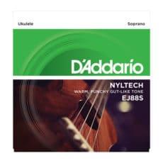 D'Addario EJ88S Soprano Nyltech Ukulele Strings