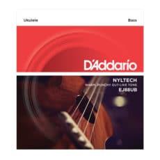 D'Addario EJ88UB Bass Nyltech Ukulele Strings
