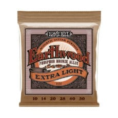 Ernie Ball 2150 – Earthwood Phosphor Bronze Acoustic Guitar Strings – Extra Light – 10-50