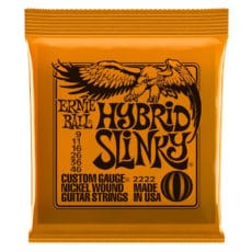 Ernie Ball 2222 – Hybrid Slinky Nickel Wound Electric Guitar Strings – 9-46