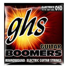 GHS Boomers GBL – Roundwood – Electric Guitar Strings – Light – 10-46