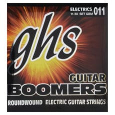 GHS Boomers GBM – Roundwood – Electric Guitar Strings – Medium – 11-50