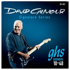 GHS Boomers GB-DGF – David Gilmour Signature Series – Electric Guitar Strings – 10-48