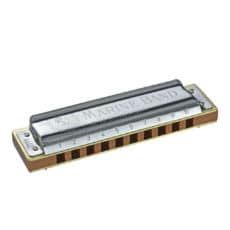 Hohner Marine Band 1896 Classic Harmonica – 1896/20 – All Keys – Diatonic – With Free Lessons