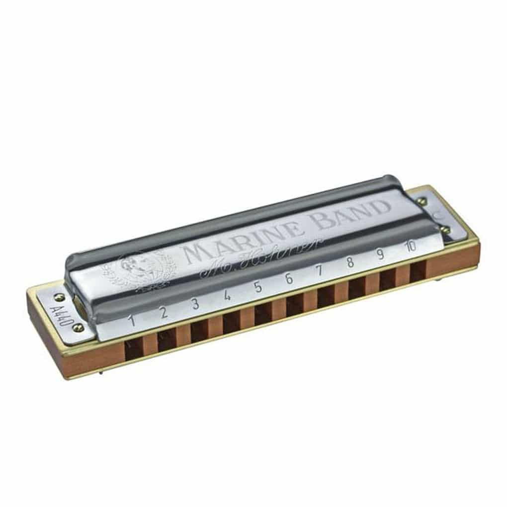 hohner marine band 1896 classic harmonica 1896 20 key of f diatonic with free lessons. Black Bedroom Furniture Sets. Home Design Ideas