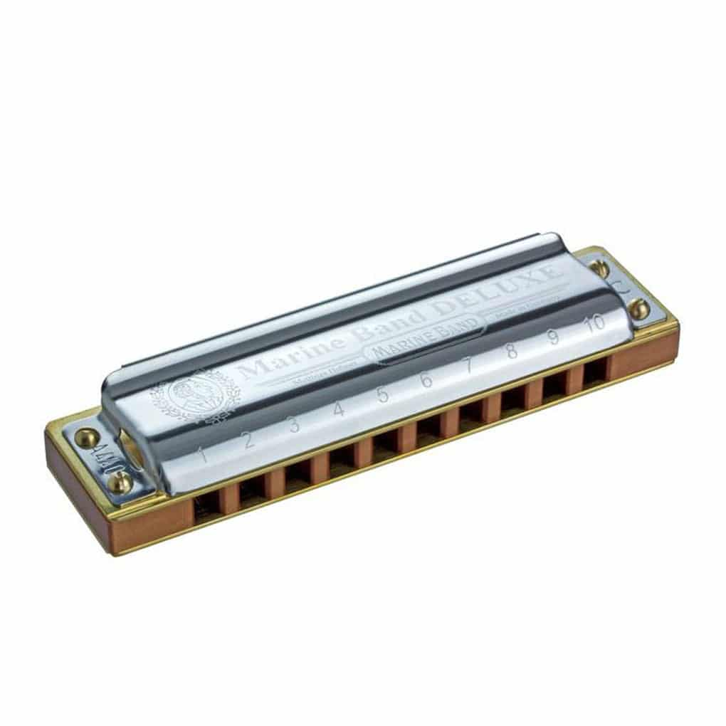 hohner marine band deluxe harmonica key of c diatonic with free lessons original artisan. Black Bedroom Furniture Sets. Home Design Ideas