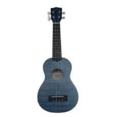 Kala KA-SEMB Exotic Blue Mahogany Soprano Ukulele