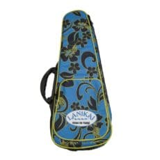 Lanikai Ukulele Case – Heavy Duty Hard Gig Bag – Floral – Concert