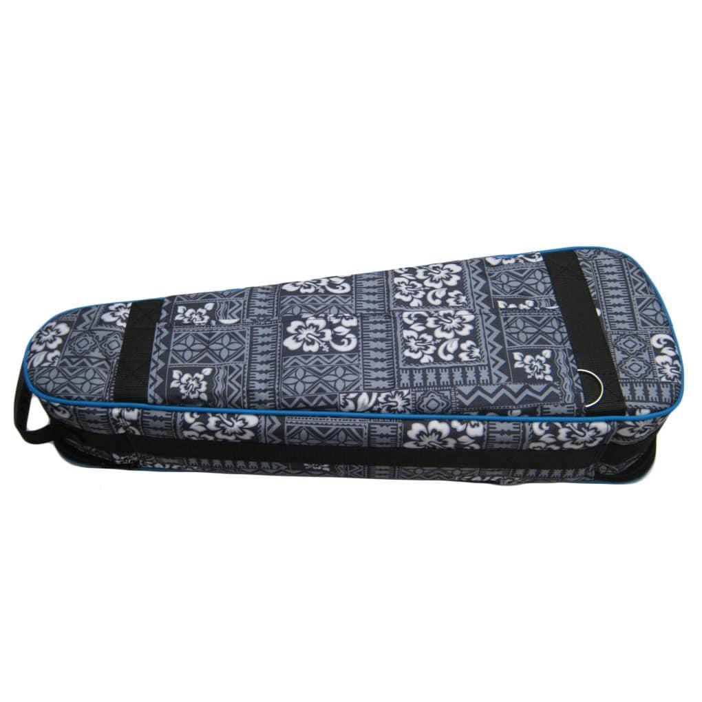 lanikai ukulele case heavy duty hard gig bag tribal concert original artisan. Black Bedroom Furniture Sets. Home Design Ideas