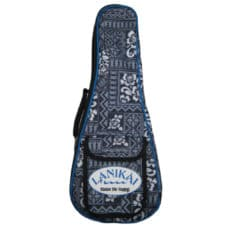 Lanikai Ukulele Case – Heavy Duty Reinforced Gig Bag – Tribal – Soprano