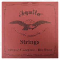 Brazilian Cavaquinho Strings – Aquila Nylgut Red Series – Medium Tension – Dgbd – 15CH