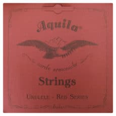 Banjo Ukulele – Banjolele String – Aquila Nylgut Red Series – Red Single 3rd C String – 79U