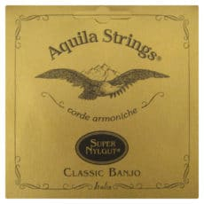 Banjo Strings – Aquila Classic 5 String Banjo – Light Tension – DBGDG – All Nylgut – 6B