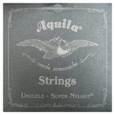113U CONCERT LOW G TUNING AQUILA UKULELE SUPER NYLGUT STRINGS LAVA SERIES