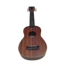 Kala KA-S Mahogany Soprano Ukulele with Traditional Binding